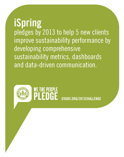 iSpring Greenbuild We The People Pledge